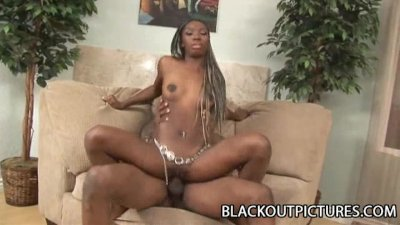 Jaycee - A Cock Riding Episode For A Petite Ebony Teen