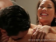 Wicked - Kalina Ryu gets a mouth full of cum