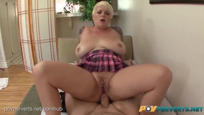 POVPerverts - Huge Titted Blonde, Missy Monroe, Fucked Hard Up the Ass