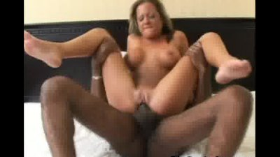 Big Cock Pounding Pussy So Hard!
