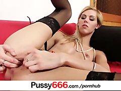 Sindy Vega extreme pussy flexing on close ups