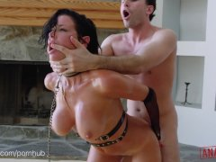 ANALIZED   Veronica Avluv s MILF Ass Double Stuffed With Cock