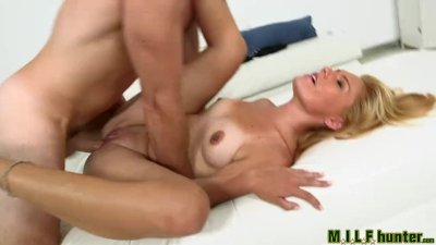 Milf Hunter - Yoga milf loves cock