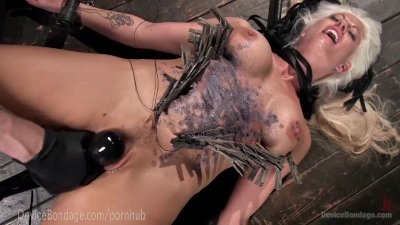 Hot MILF Holly Heart Dungeon Bondage