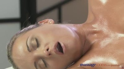 Massage RoomsTwo beautiful lesbians enjoy sensual and intense orgasms