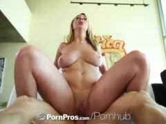Big Tits Brooke Wylde goes from dusting to fucking   PornPros