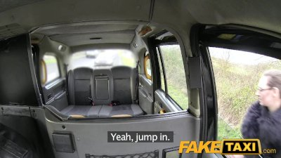 FakeTaxi Big tits tattoos and