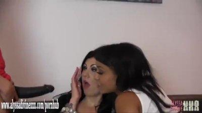 Horny licking lesbian ebony ba