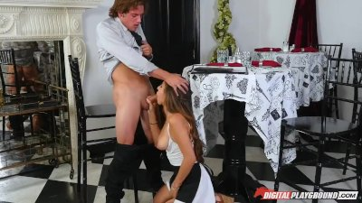 DP Star 3 - Latina Teen Nina North Deep Throat Blowjob