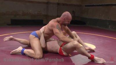 Wrestling Muscled Gods