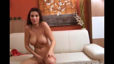 Cum on Connie glaze her face with hot jizz