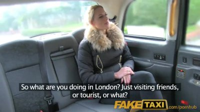 Blowjob British Cumshot video: FakeTaxi Sexy Dutch minx tries anal in taxi