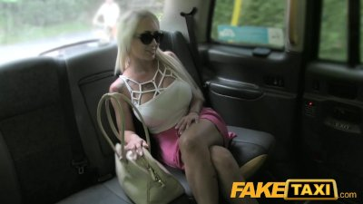 Blonde Blowjob Camera video: FakeTaxi Hungarian beauty with perfect body