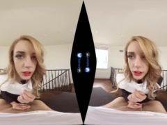 Blonde Teen SIster Nun Fucks Priest POV on BaDoinkVR com