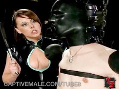Man Slave Gets Pegged and Humiliated