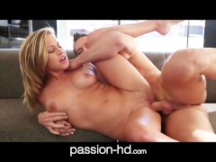 PassionHD All natural girl takes it hard doggystyle