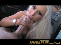 FakeTaxi Adult tv star seduces taxi driver
