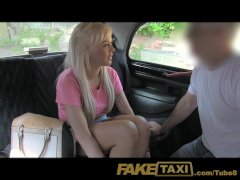 FakeTaxi Young innocent and willing to earn extra blowjob cash