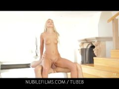: Nubile Films   Would you lick the cum from Dido Angels creampie pussy?