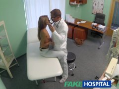 FakeHospital Spying on hot young babe...