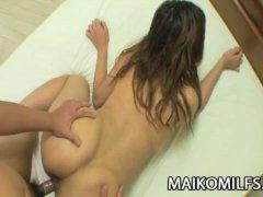 Hitomi Fujiwara: Cock Hungry Japanese Wife Loves Rough Sex