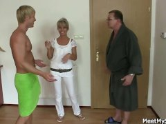 Holy shit  Family threesome with my girlfriend
