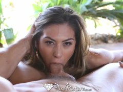 PureMature Sexy woman gives her man deepthroat