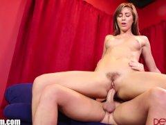 DevilsFilm Rilynn Rae Gets Cum on her Bush