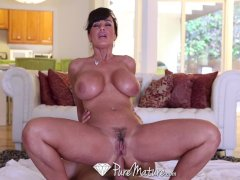 HD   PureMature Lisa Ann gets ass fucked by her younger man