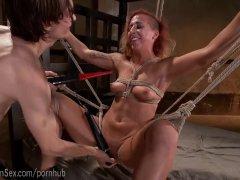 Hot Aggressive Bondage Fuck