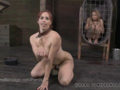 Puppy Girl Bella Rossi Humps Her Master s Leg
