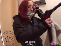 MallCuties   Amateur redhead girl sucking and fucking