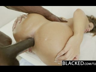 BLACKED Interracial Anal Sex with Jada