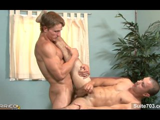 Very sexy married guy gets fucked by a gay
