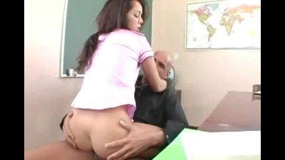 horny latina teen getting fuck