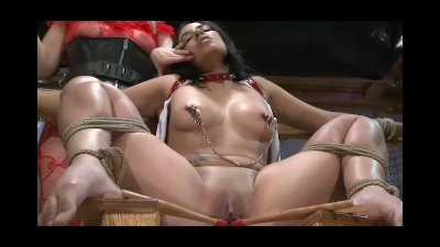 Blonde Bondage Brunette video: Extreme Punishment