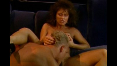 Deep penetration in hairy vintage pussy