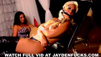 Jayden and Bridgette Tied Up and Bound