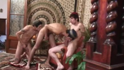 Arabian Fantasy Threesome 2