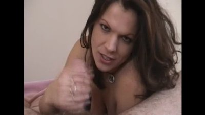 Dildoing in bed