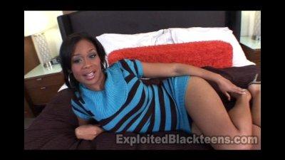 Busty 34 DD 19yr old Black Teen gets Fucked hard to Orgasm