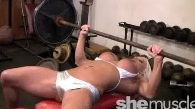 Ashlee Chambers SheMuscle Pornstar Fitness