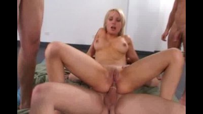 busty Deborah Prat ganged and