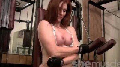 Catherine DeSade SheMuscle Mature Redhead