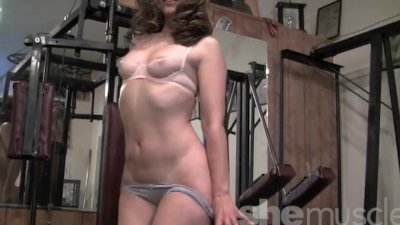 Jackie Sexy in the Gym