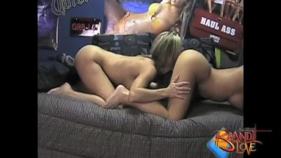 Brandi Love Threesome Dorm room Fun