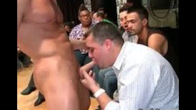Bunch of drunk gay guys go crazy in club part5