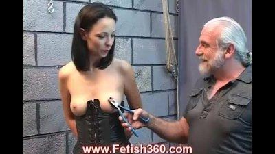 Tawny the hot brunette sex slave