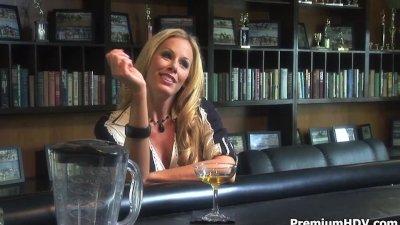 Drunk horny milf Nicole needs