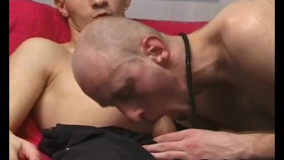 Hot Gay Couple Bareback Anal Action